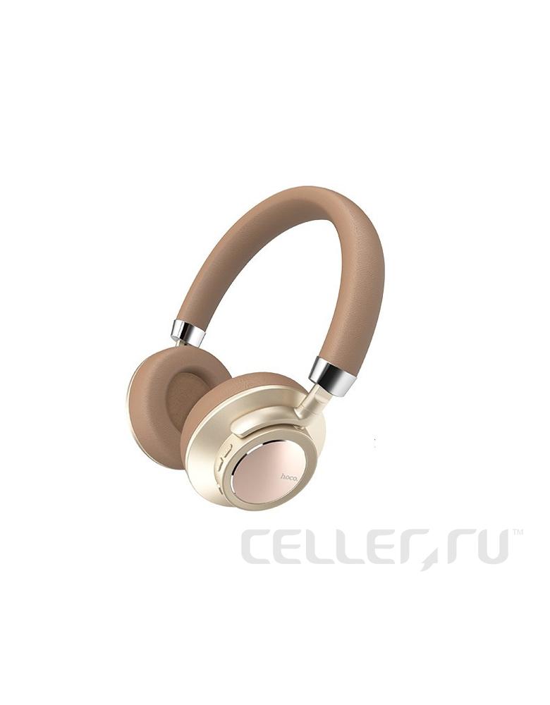 Bluetooth наушники HOCO(original)W10 wireless Цвет: Золото