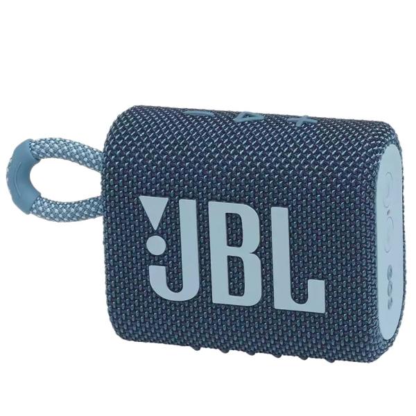 Беспроводная акустика JBL Go 3 Blue (JBLGO3BLU)