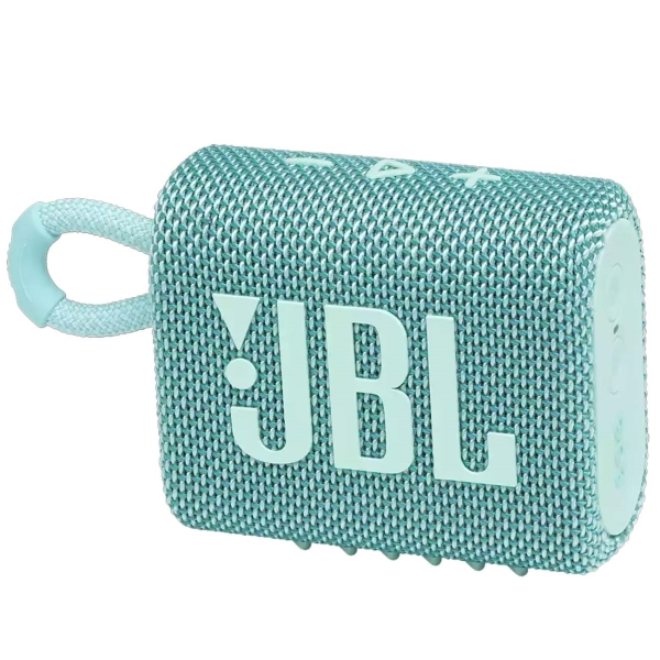 Беспроводная акустика JBL Go 3 Teal (JBLGO3TEAL)