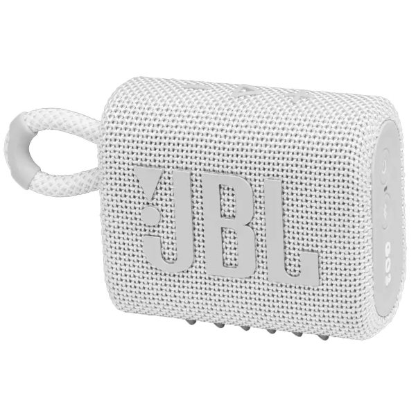 Беспроводная акустика JBL Go 3 White (JBLGO3WHT)