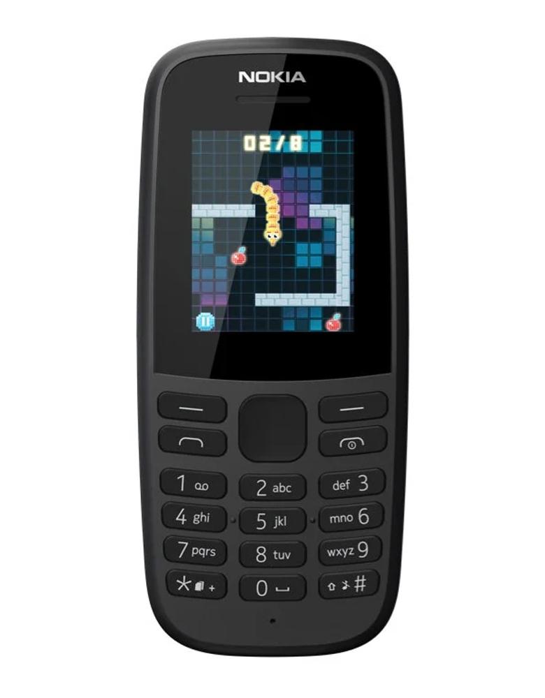 Телефон Nokia 105 DS (2019) черный