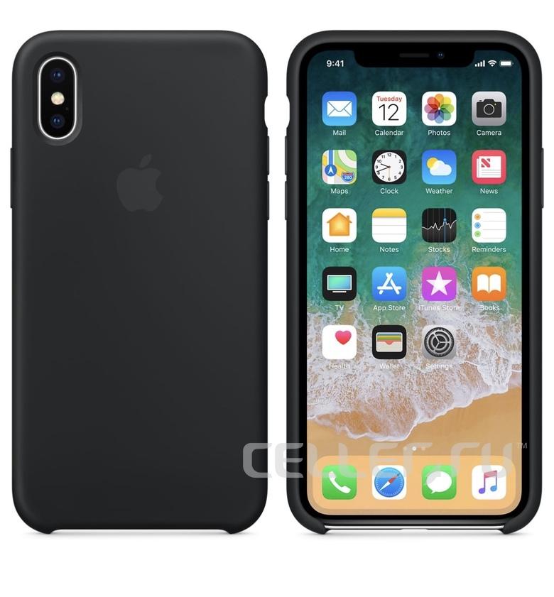 iPhone 6 Silicone Case - Black