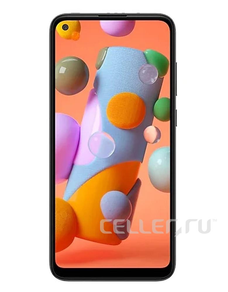 Смартфон Samsung Galaxy A11 Черный
