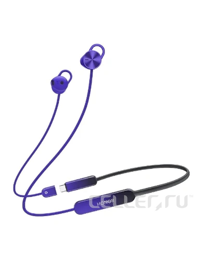 Беспроводные наушники HONOR AM66 Sport Pro violet