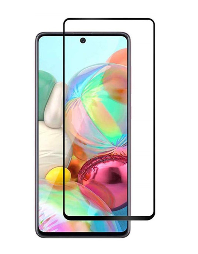Защитное стекло для Samsung Galaxy A71 с полным покрытием