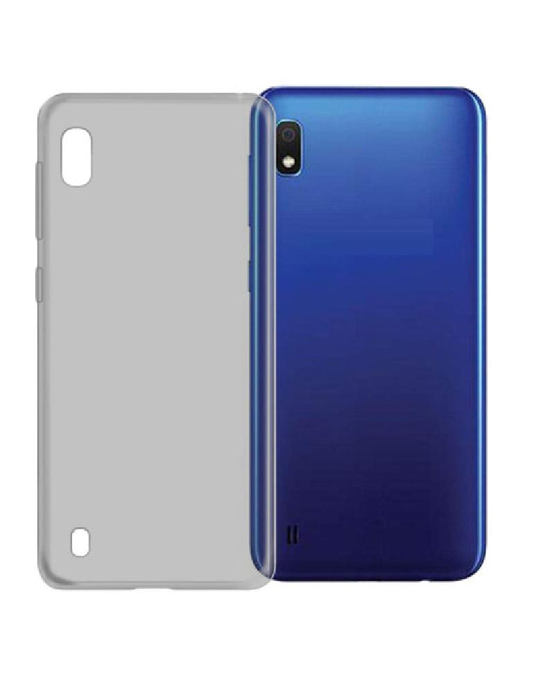 Чехол силиконовый для Samsung A10 затемненный