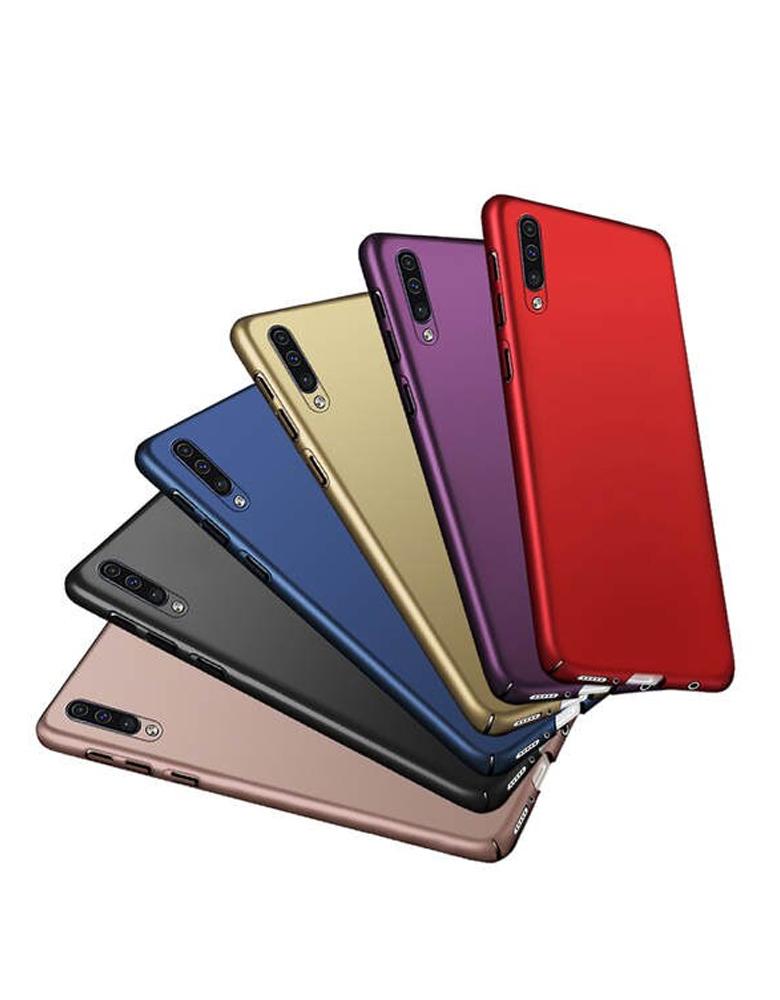 Чехол силиконовый Samsung Galaxy A30s / A50 / A50s цветной в ассортименте
