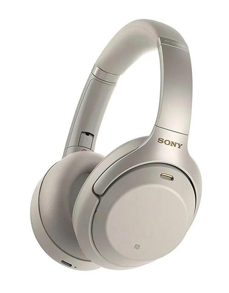 Наушники Sony WH-1000XM3 Серебристые