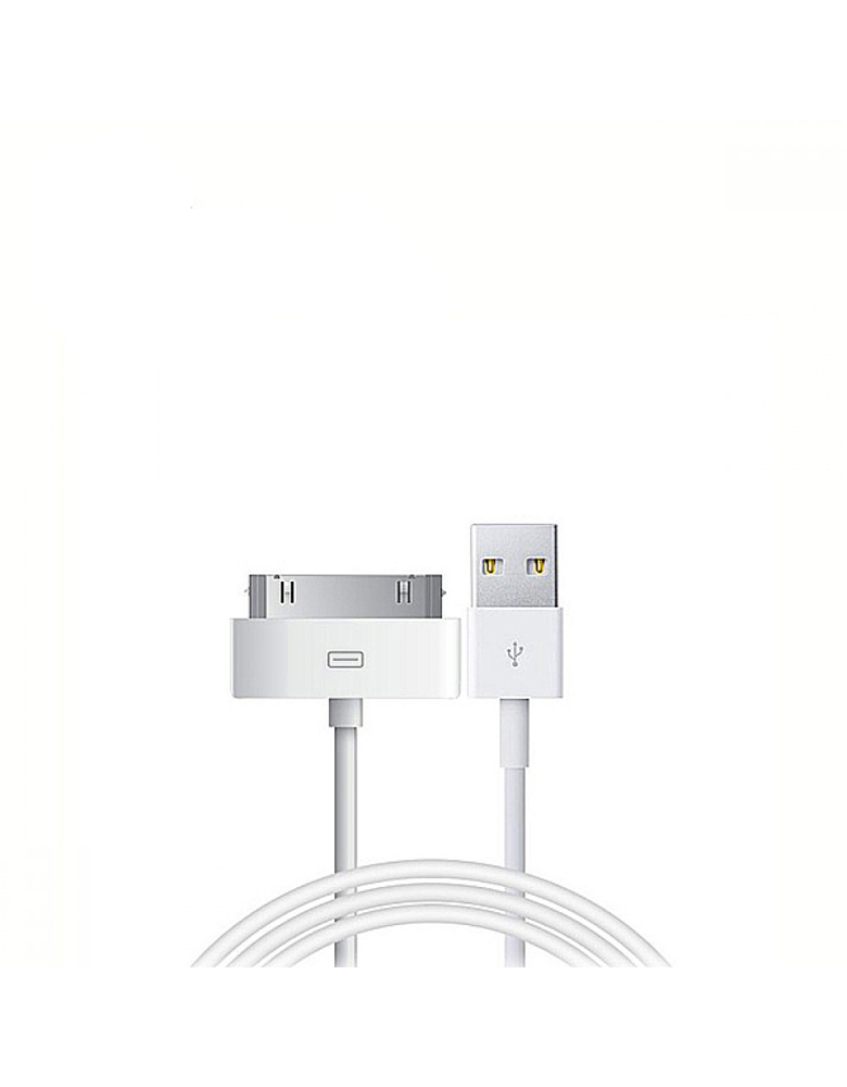 USB кабель HOCO (Original) UP301 для Apple 30Pin 1,2м. Цвет: Белый