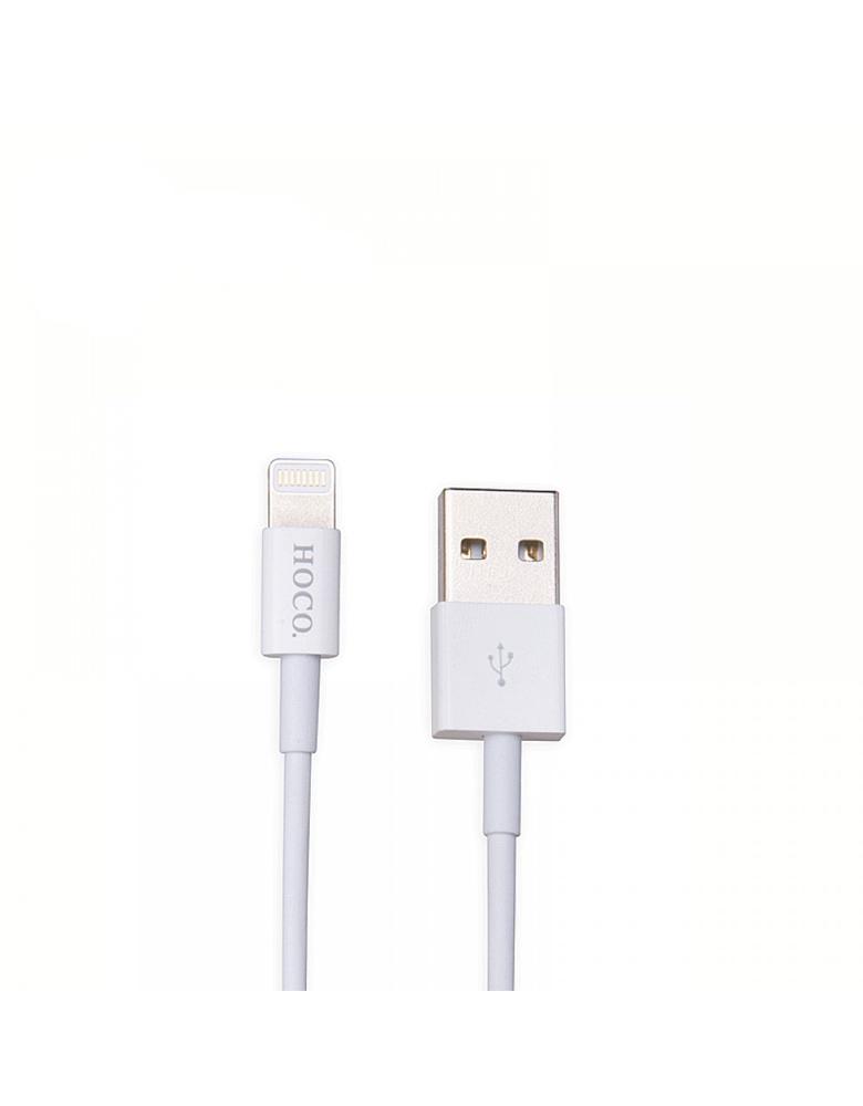 USB кабель HOCO (Original) UPL02 Apple 1,2 м. Цвет: Белый