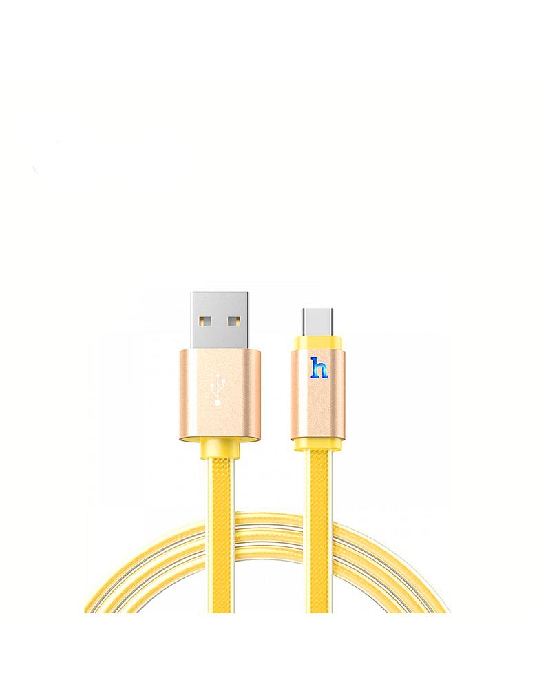 USB кабель HOCO (Original) UPL12 Type-C 1,2 м Цвет: Золотой