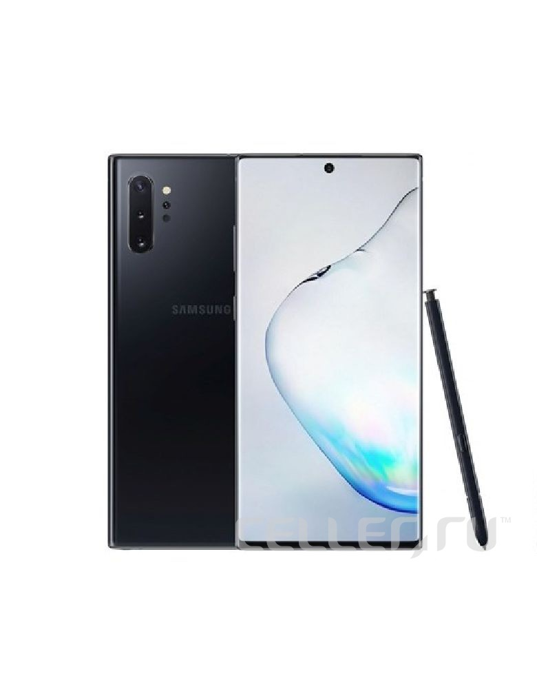 Смартфон Samsung Galaxy Note 10+ 8/256GB Black