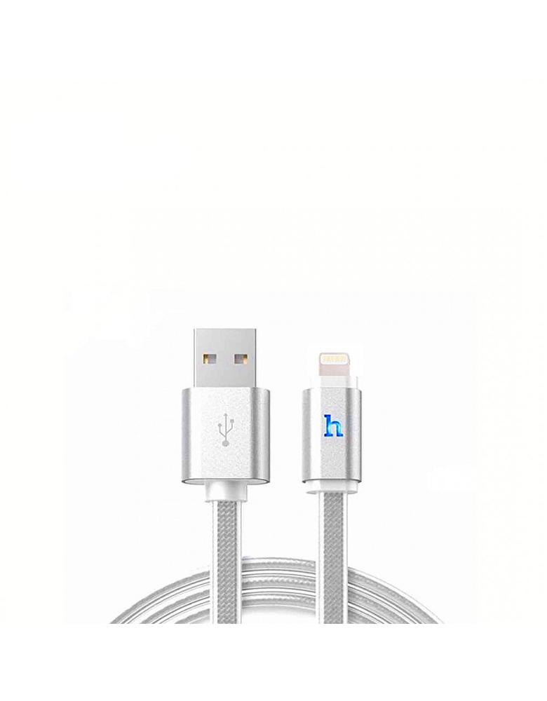 USB кабель HOCO Original UPL12 для Apple 1,2 м. Цвет: Серый
