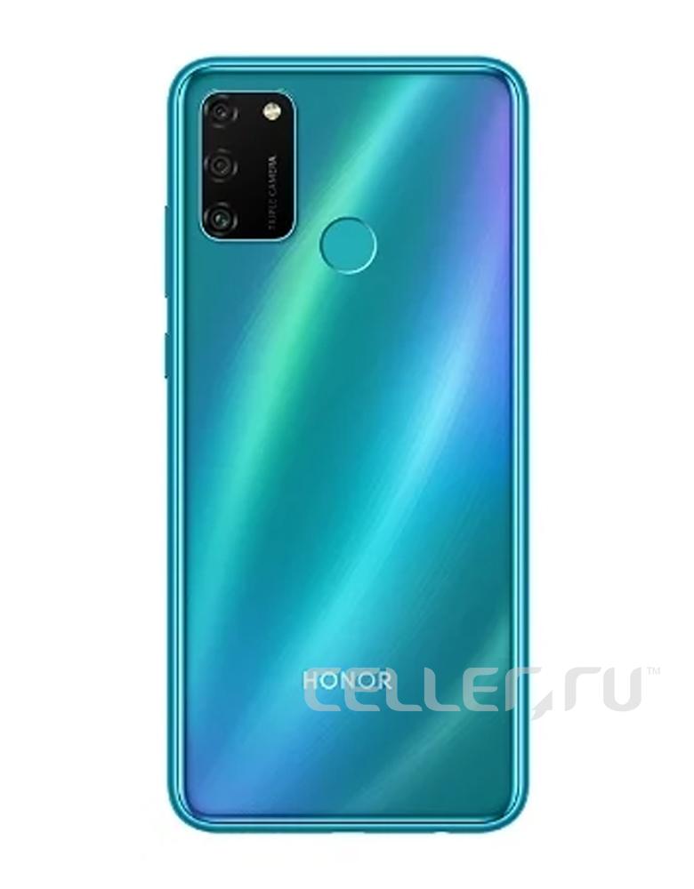 Смартфон Honor 9A мерцающий синий
