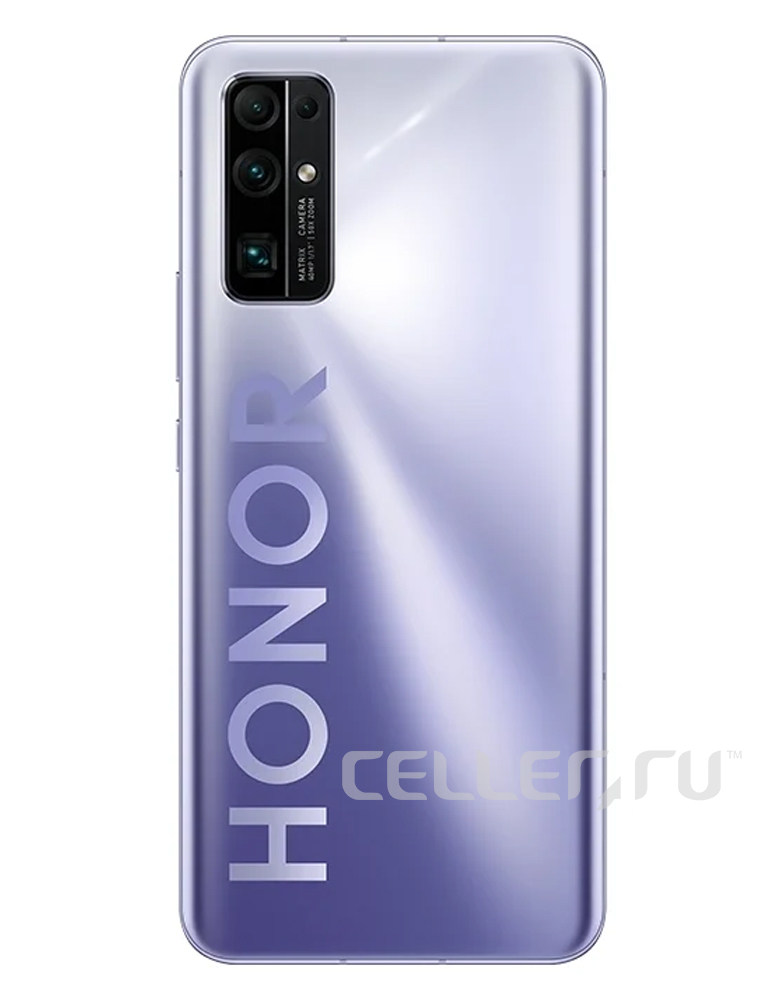 Смартфон HONOR 30 8/256GB титановый серебристый