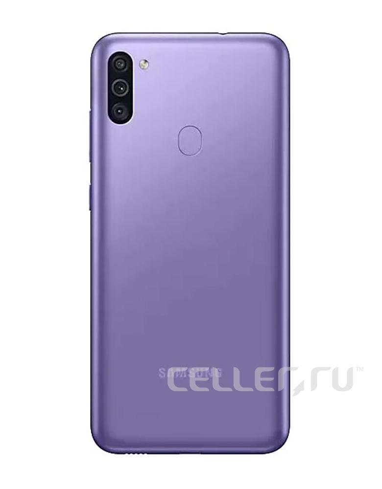Смартфон Samsung Galaxy M11 фиолетовый