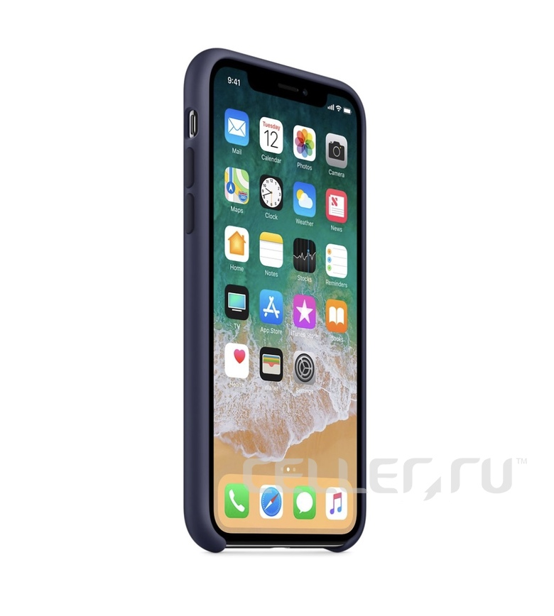 iPhone 8 Silicone Case - Midnight Blue