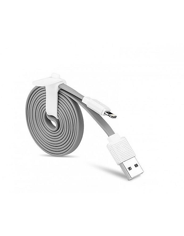 USB кабель HOCO (Original) UPL18 для Apple 1,2 м. Цвет: Серый