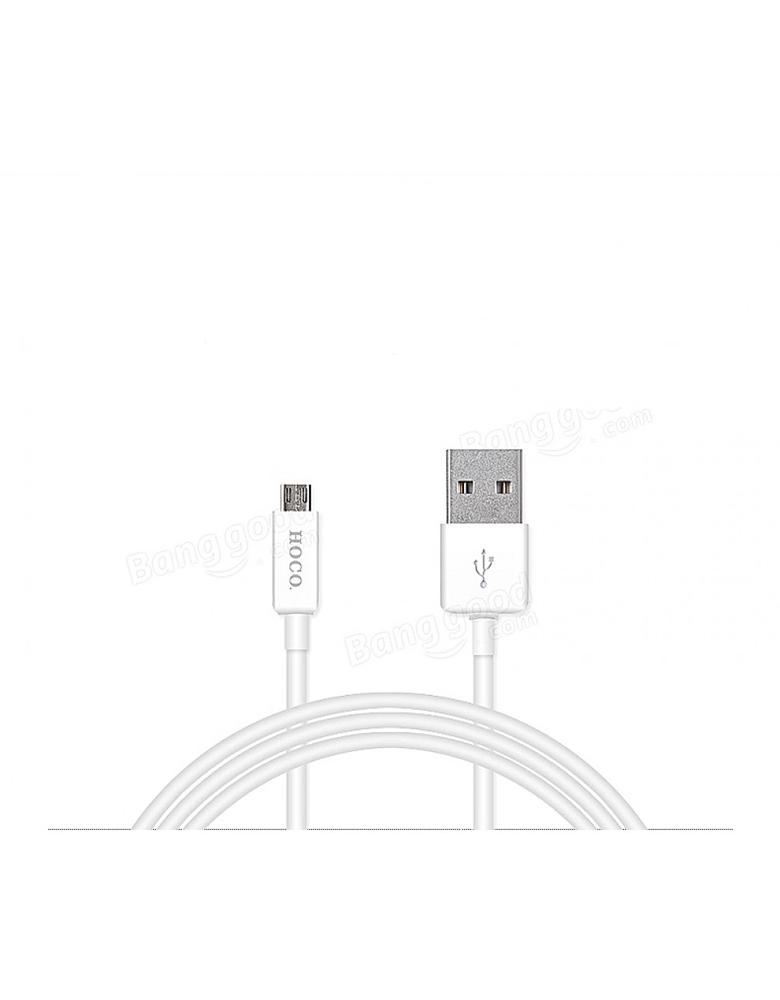 USB кабель HOCO (Original) UPM01 Micro 1,2м. Цвет: Белый