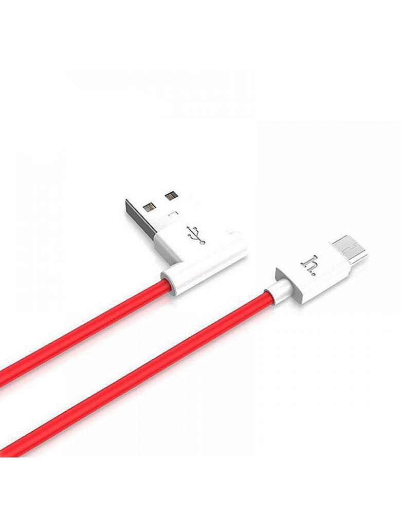 USB кабель Hoco (Original) UPM10 Micro 1,2м. Цвет: Красный