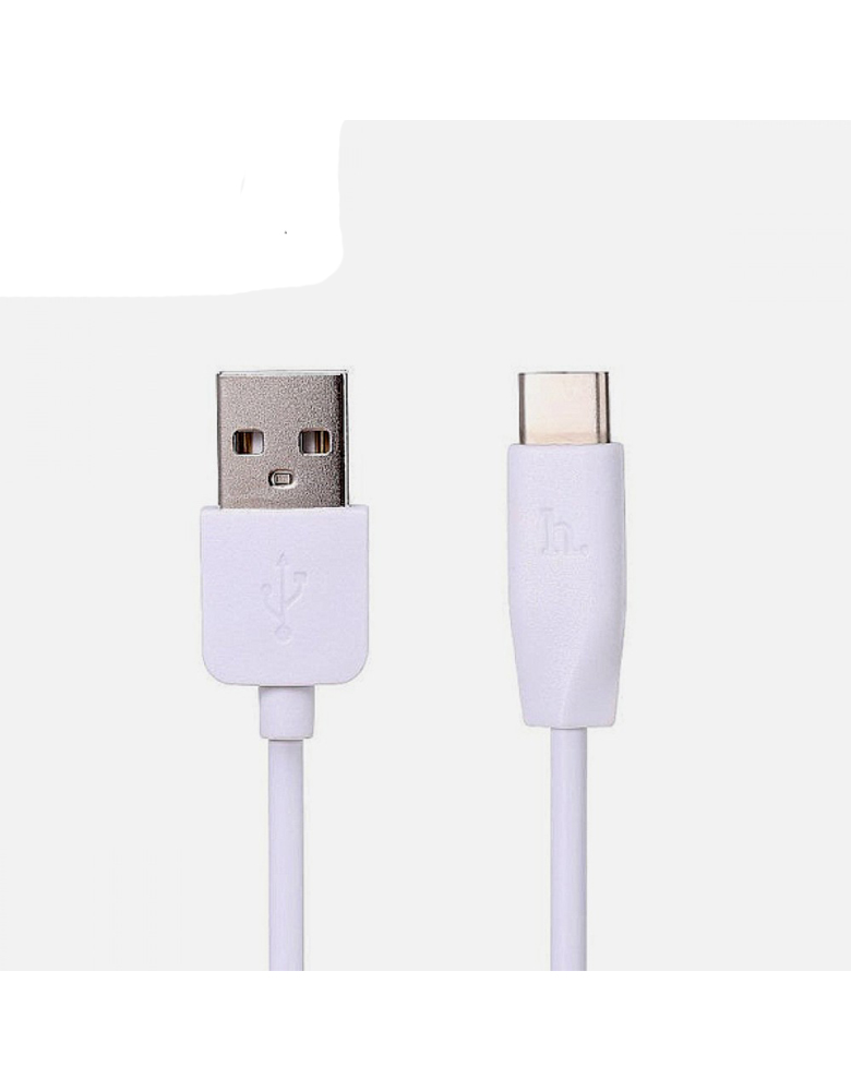 USB кабель HOCO (Original) X1 Type-C 1м Цвет:Белый