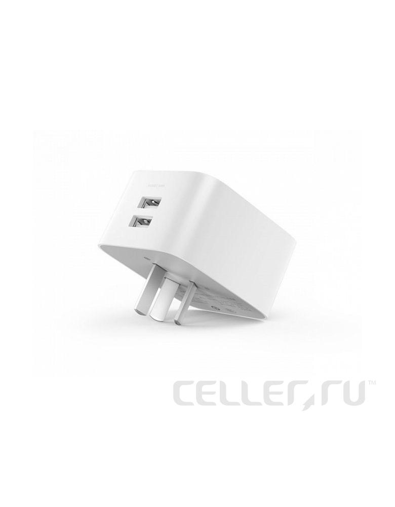 Умная розетка Xiaomi Mija Smart Plug Enhanced EU VDE Wi-Fi белый (ZNCZ03CM)