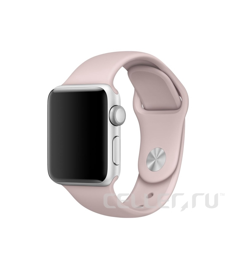38mm Pink Sand Sport Band