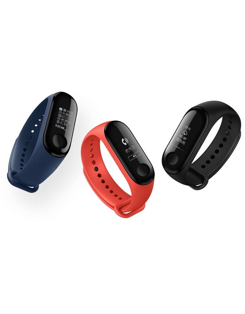 Xiaomi Mi Band 3 (Голубой)