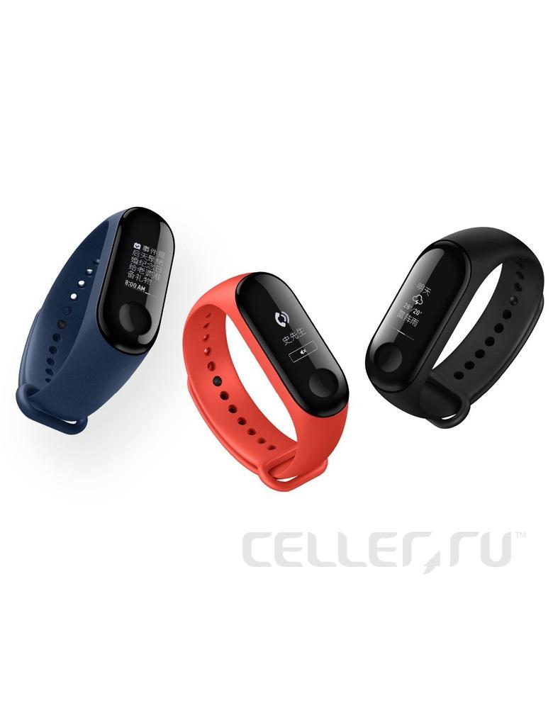 Xiaomi Mi Band 3 (Серый)