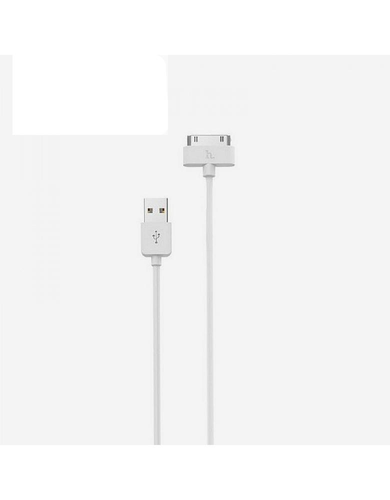USB кабель HOCO (Original) X1 для Apple 30Pin 1м Цвет: Белый
