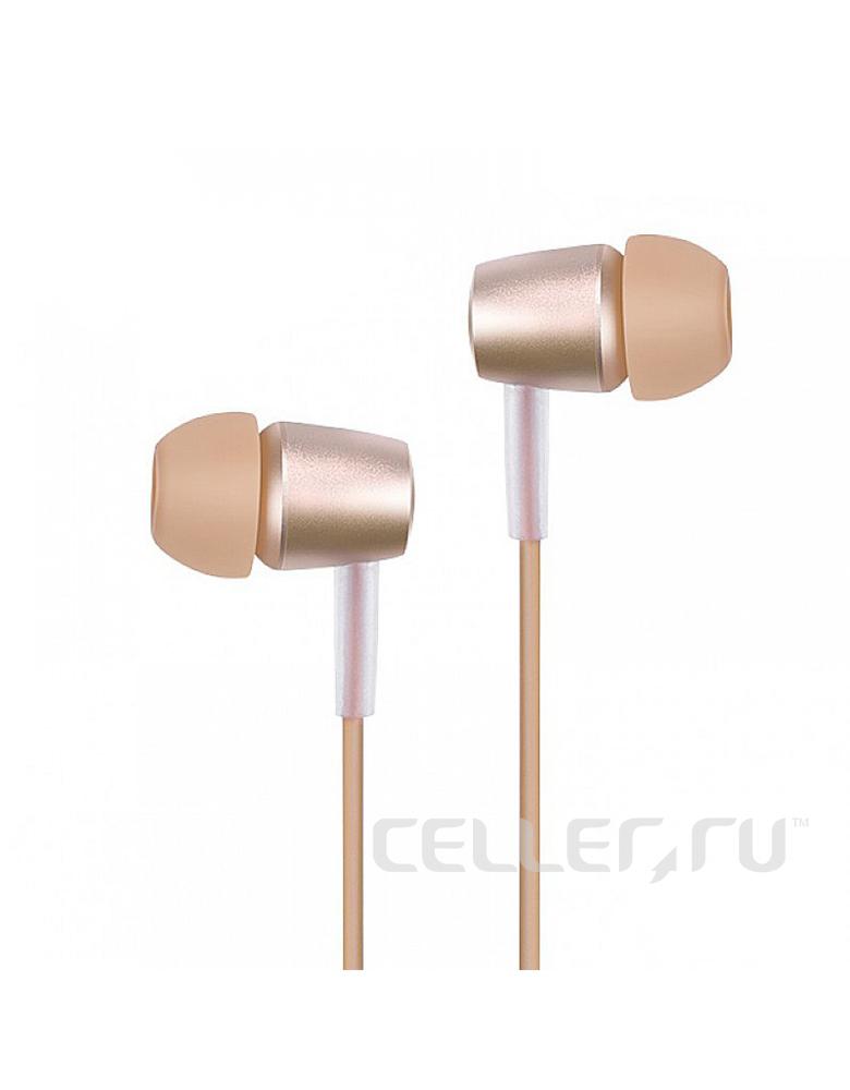 Наушники с микрофоном HOCO(original)M10 Цвет:Розовое золото