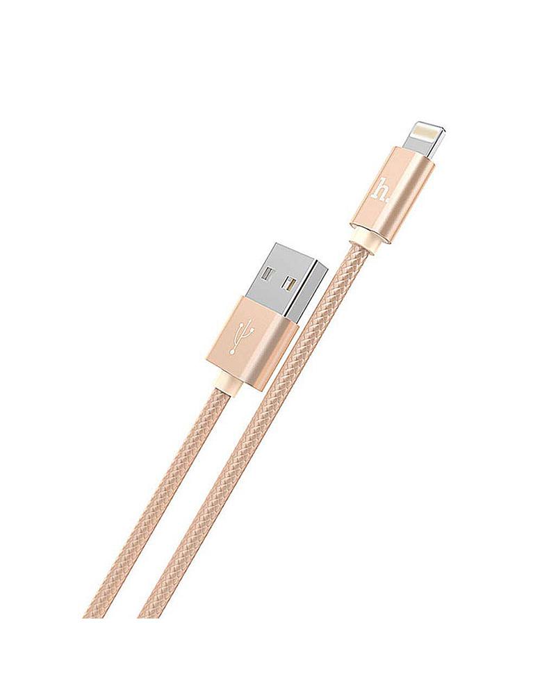 USB кабель HOCO (Original) X2 для Apple 1M Цвет: Золотой