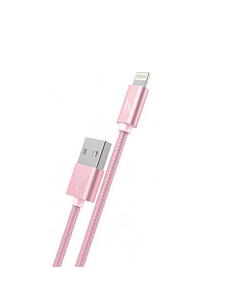 USB кабель HOCO (Original) X2 для Apple 1м Цвет: Розовый