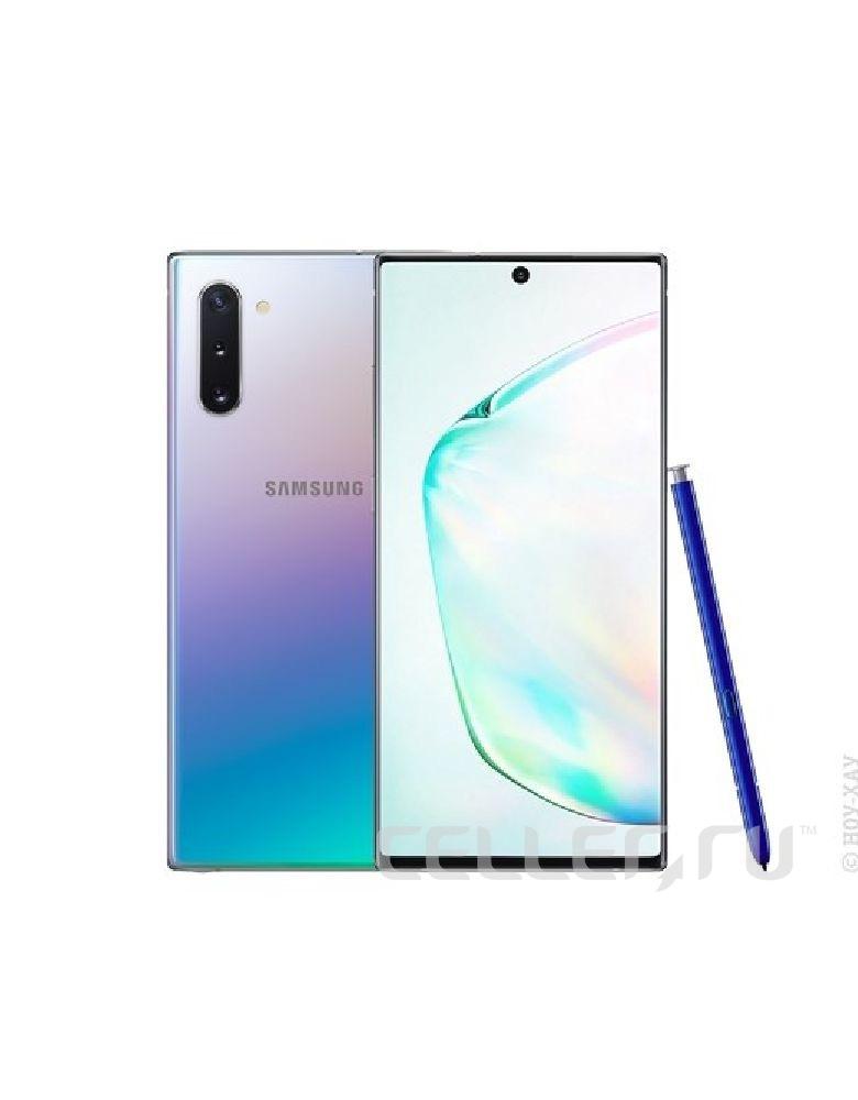 Смартфон Samsung Galaxy Note 10 8/256GB Silver