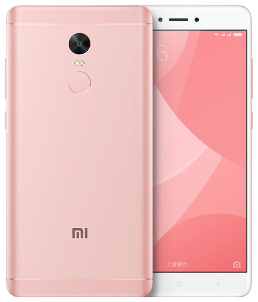 Xiaomi Note 4X 32gb Pink (Розовый)