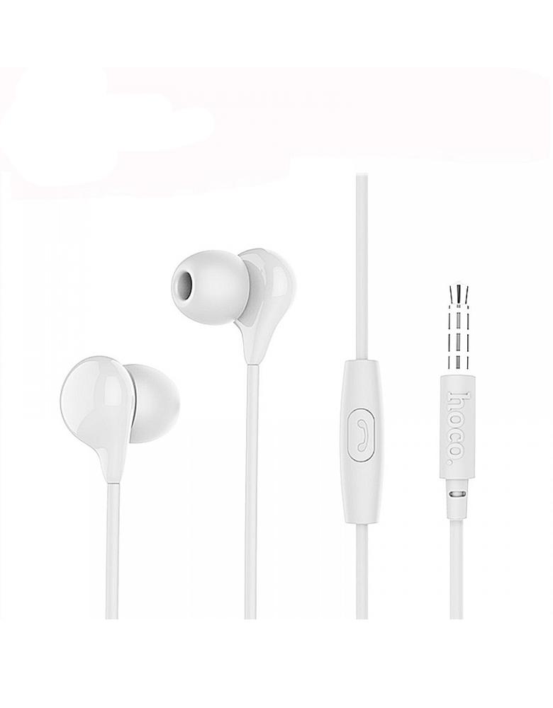 Hаушники с микрофоном Hoco M13 Candy Sound Цвет: Белый