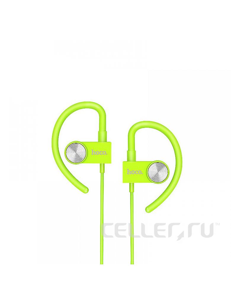 Спортивные беспроводные наушники HOCO(original)ES5 Цвет: Зелёный