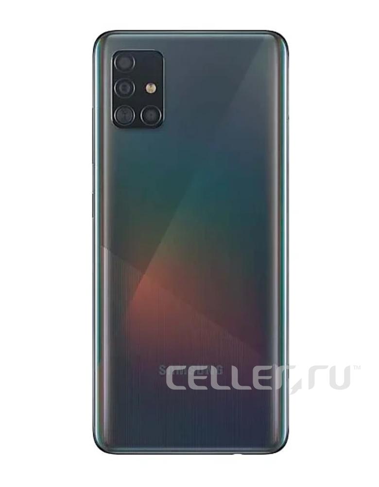 Смартфон Samsung Galaxy A51 128GB Черный