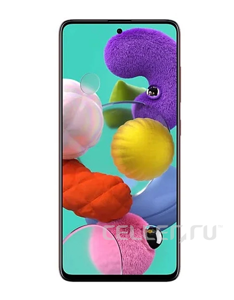 Смартфон Samsung Galaxy A51 128GB Красный