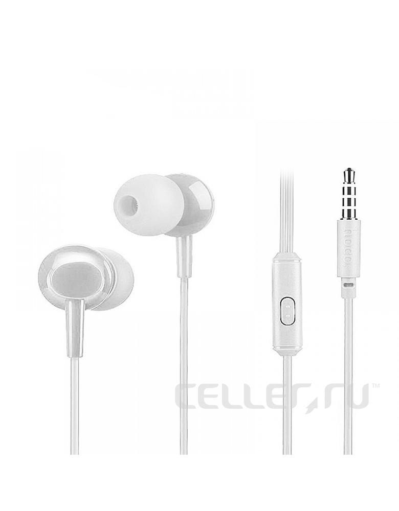Универсальные наушники с микрофоном HOCO(orinal)M14 Цвет: Белый
