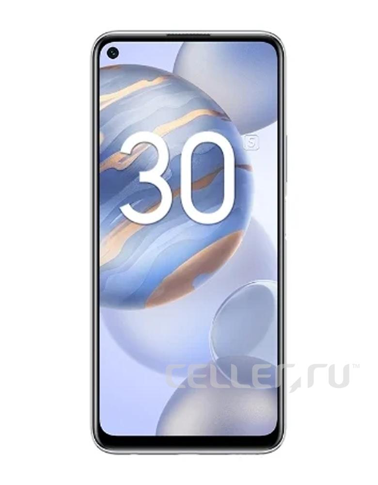 Смартфон HONOR 30S Титановый серебристый