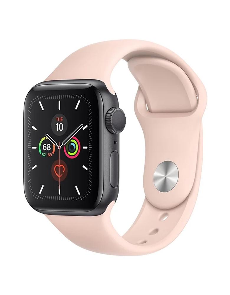 Умные часы Apple Watch Series 5 GPS 40mm Aluminum Case with Sport Band розовые