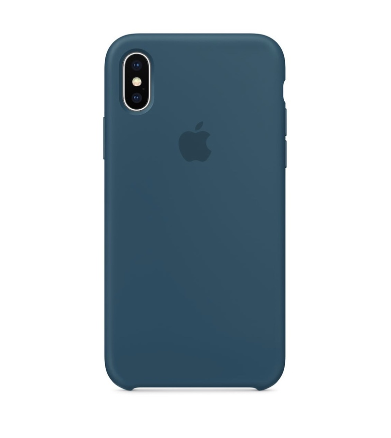 iPhone 8 Plus Silicone Case - Cosmos Blue