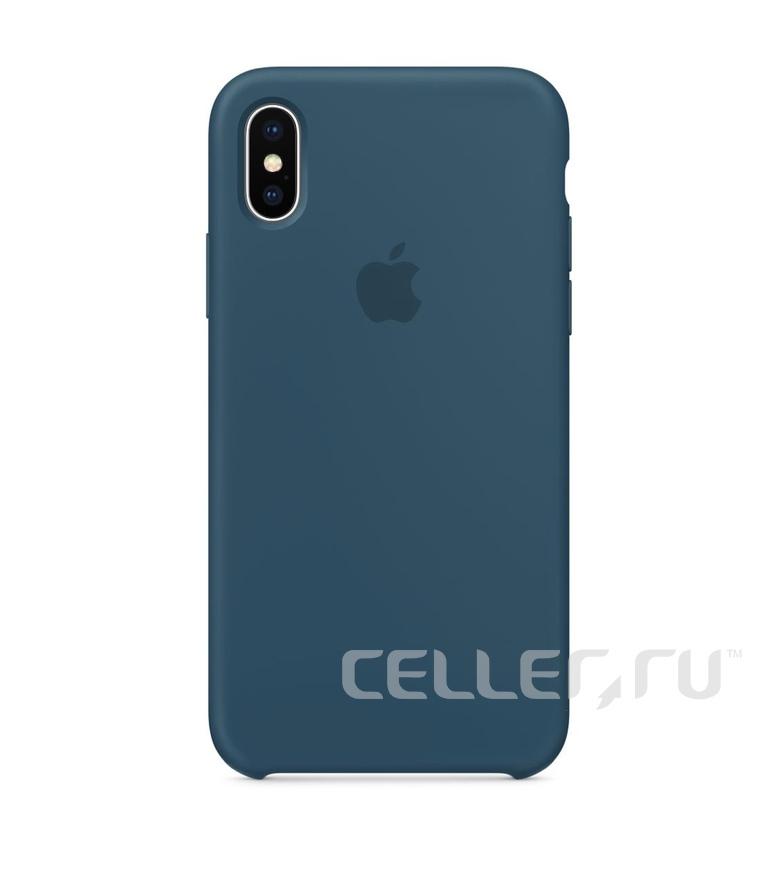 iPhone SE Silicone Case - Cosmos Blue
