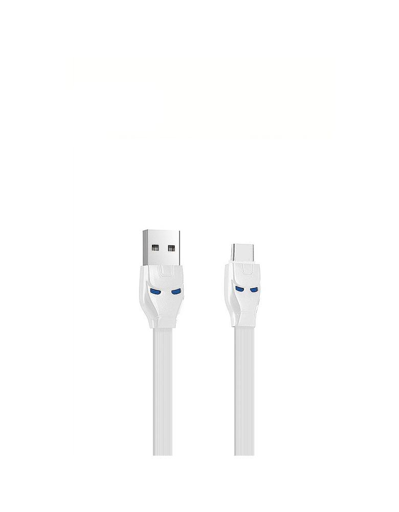 USB кабель HOCO (Original ) U14 Type-C 1,2 м Цвет: Белый