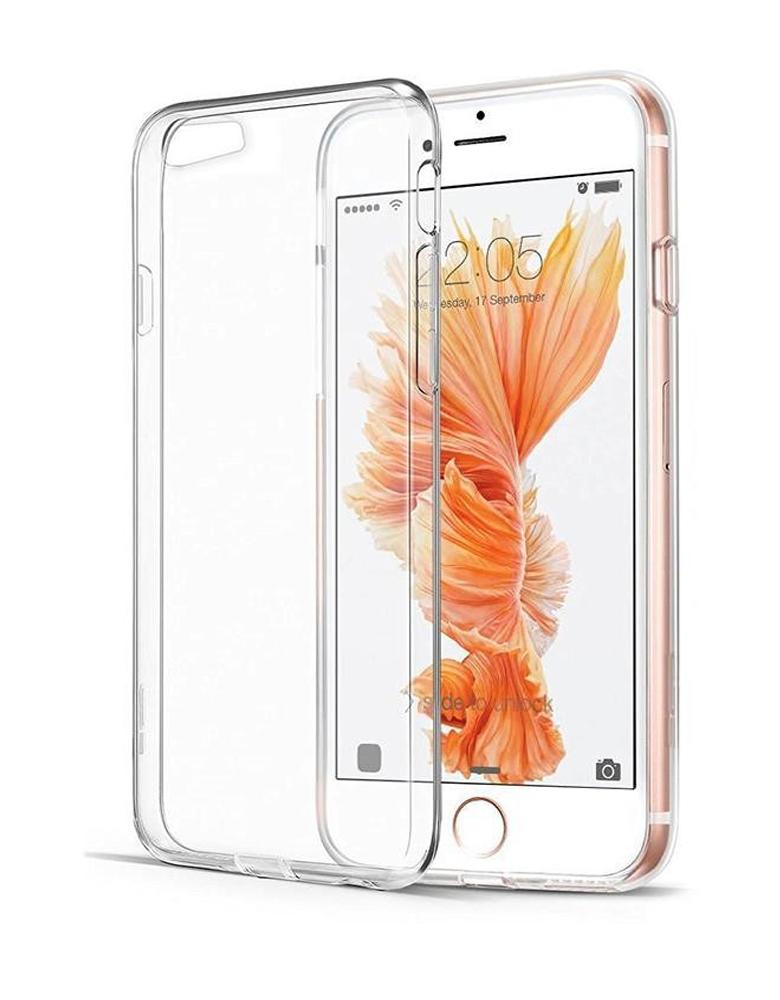 Чехол iPhone 6/6s Прозрачный Силиконовый