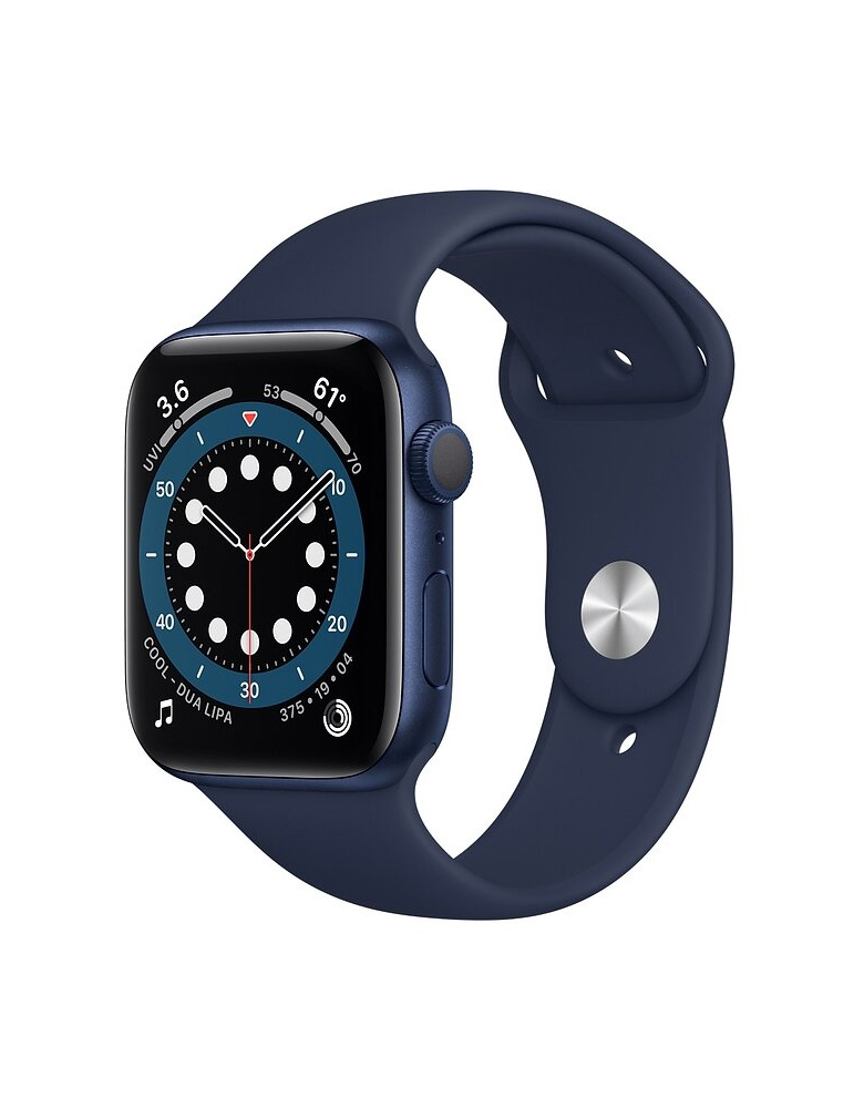 Умные часы Apple Watch Series 6 GPS 44мм Aluminum Case with Sport Band Синие
