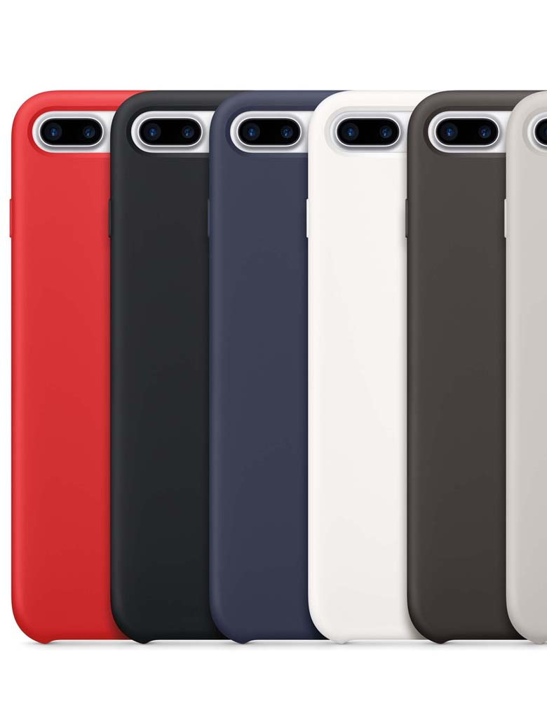 ЧЕХОЛ SILICON CASE IPHONE 7 Plus/8 Plus В АСCОРТИМЕНТЕ