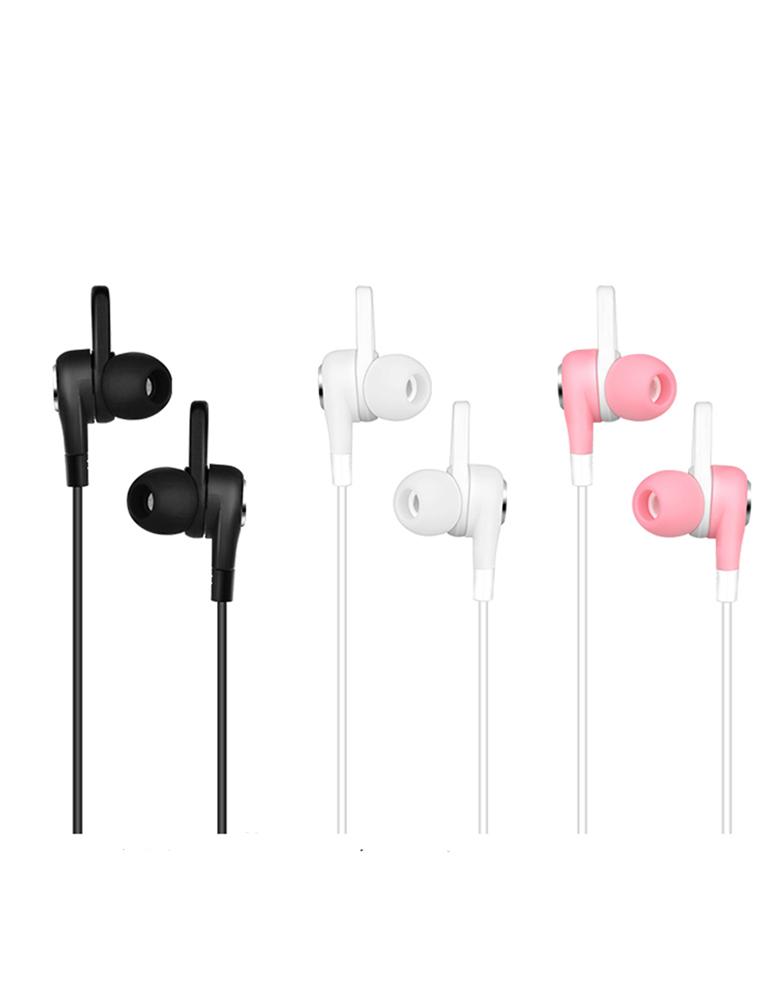 Hаушники с микрофоном Hoco M21 Aparo sporting Цвет: Розовый