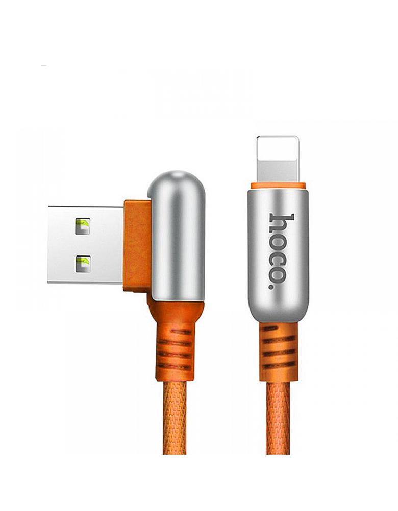 USB кабель HOCO (Original ) U17 для Apple 1,2 м Цвет: Коричневый
